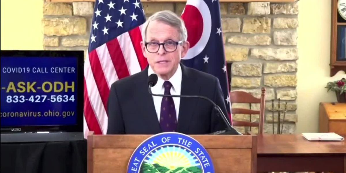 LIVE: Gov. DeWine gives update on COVID-19 vaccine rollout