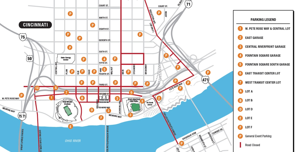 MAP: Thanksgiving Day 10K road closures
