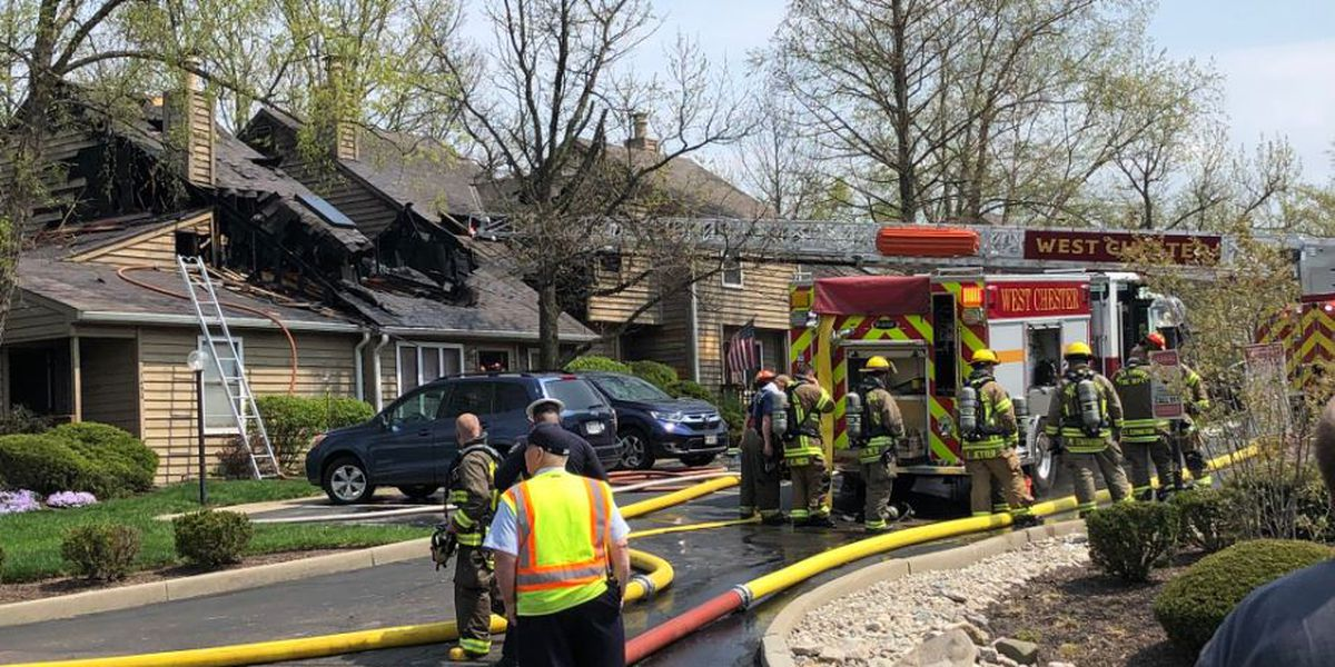 4 families displaced after condo fire in West Chester