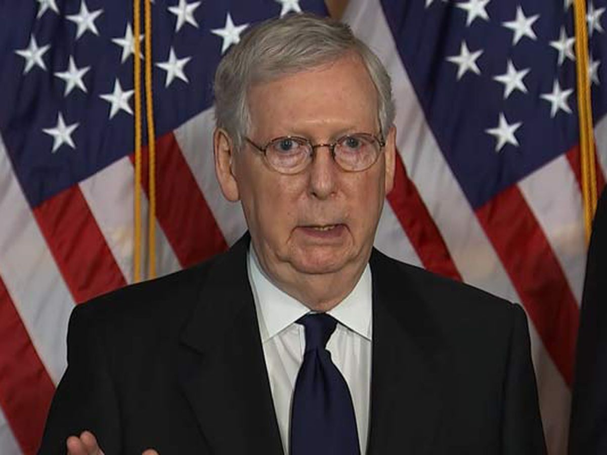 'Unsmiling political hack' -- Trump slams McConnell in new statement