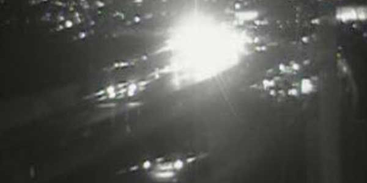 Crash clears NB I-75 at Mitchell Avenue