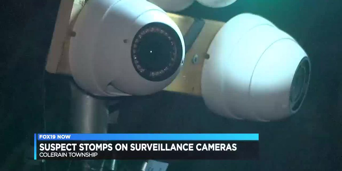 Object-wielding man takes out 3 security cameras in Colerain Twp