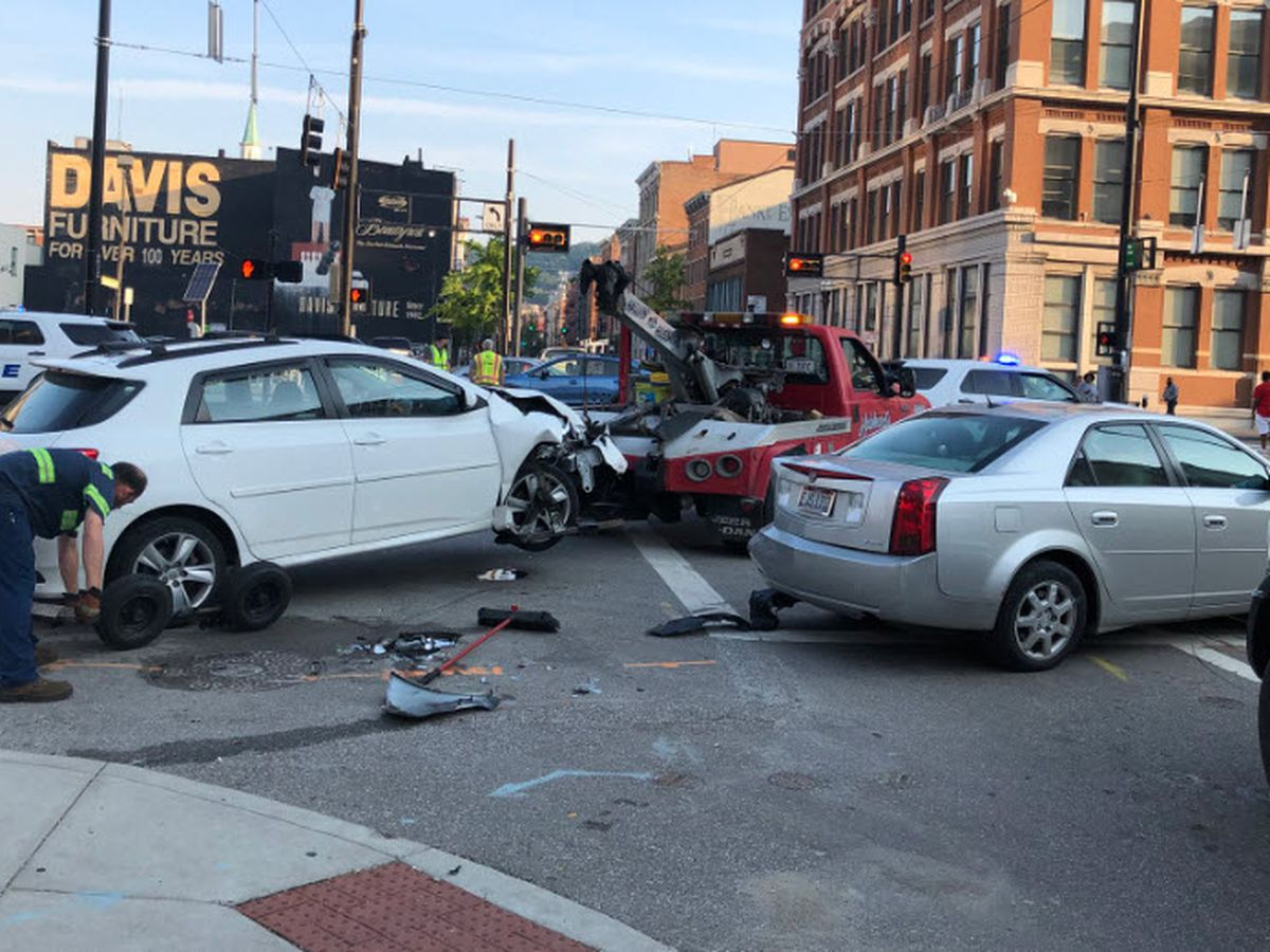 Police: Driver had medical episode before he was critically hurt in Downtown crash