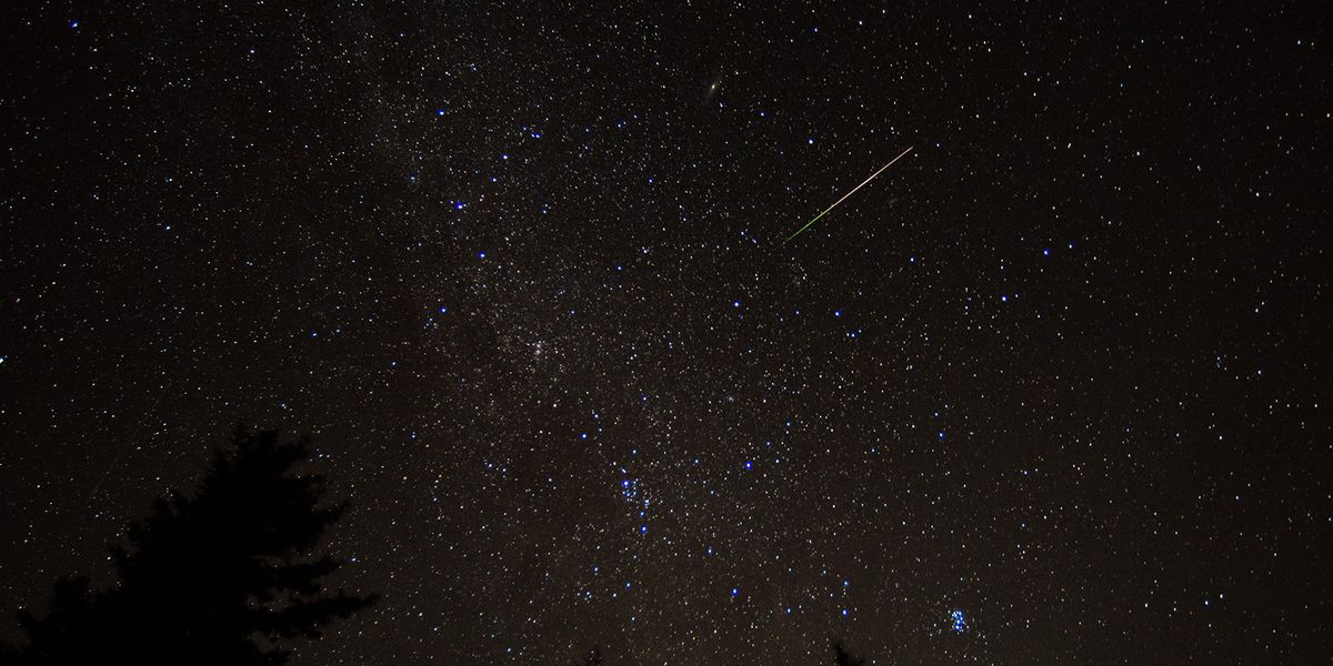 One of the best meteor showers of the year peaks this weekend