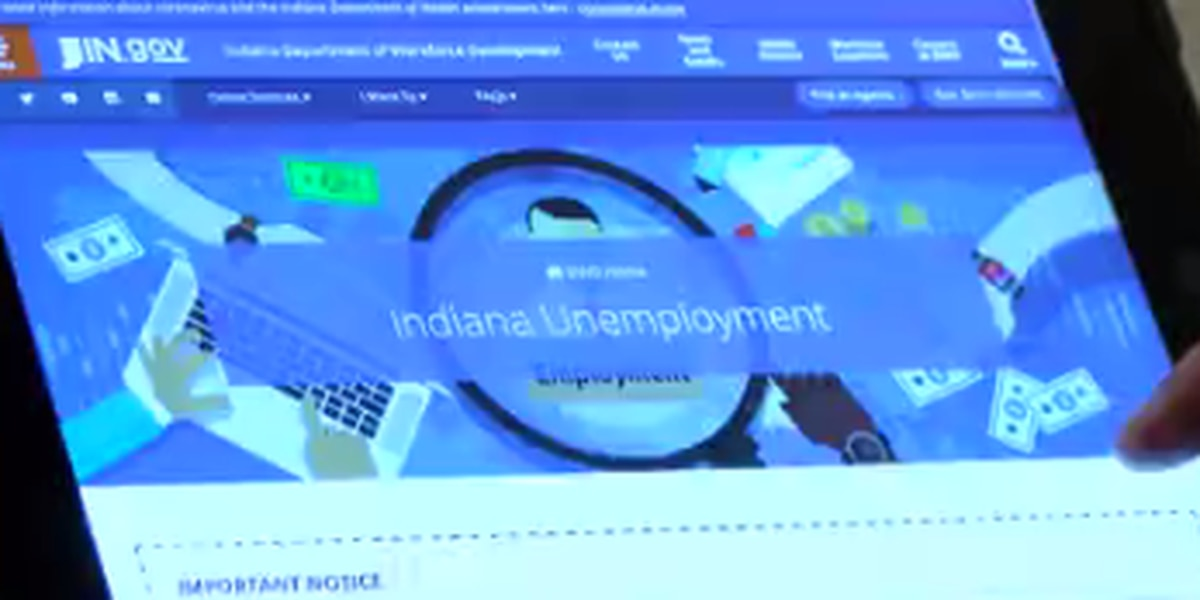 Instructions on how to apply for unemployment in IN