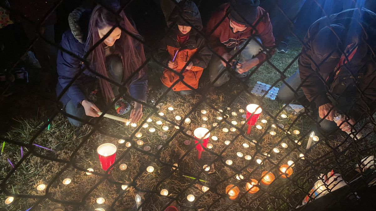 'She killed my son:' Father in shock at Middletown vigil for boy's death
