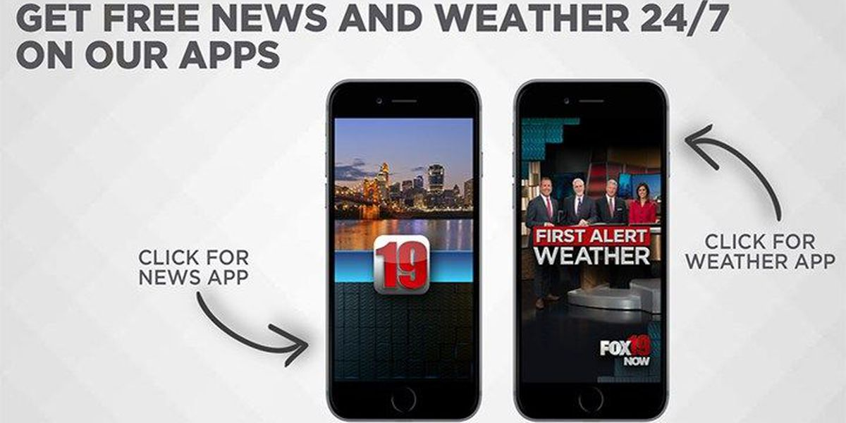 Download the FOX19 NOW apps!