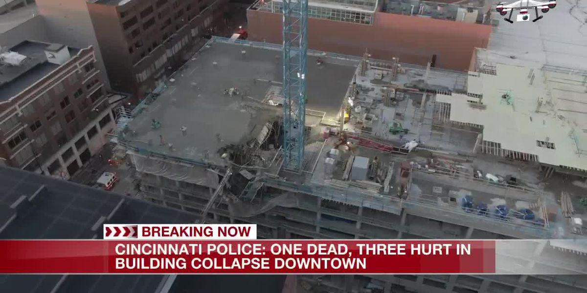 SkyFox 19: Partial building collapse