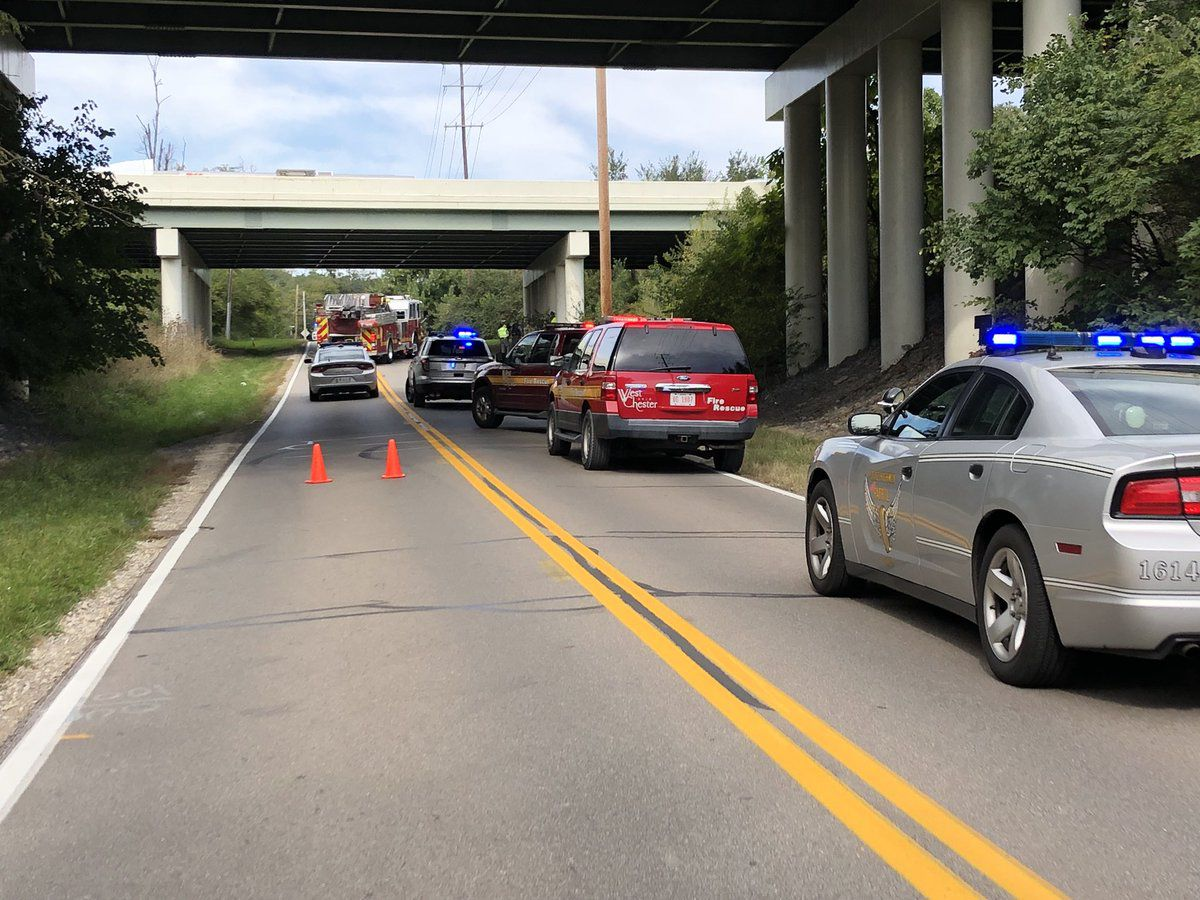 Authorities ID driver killed after car crosses lanes of I-75, flies off overpass