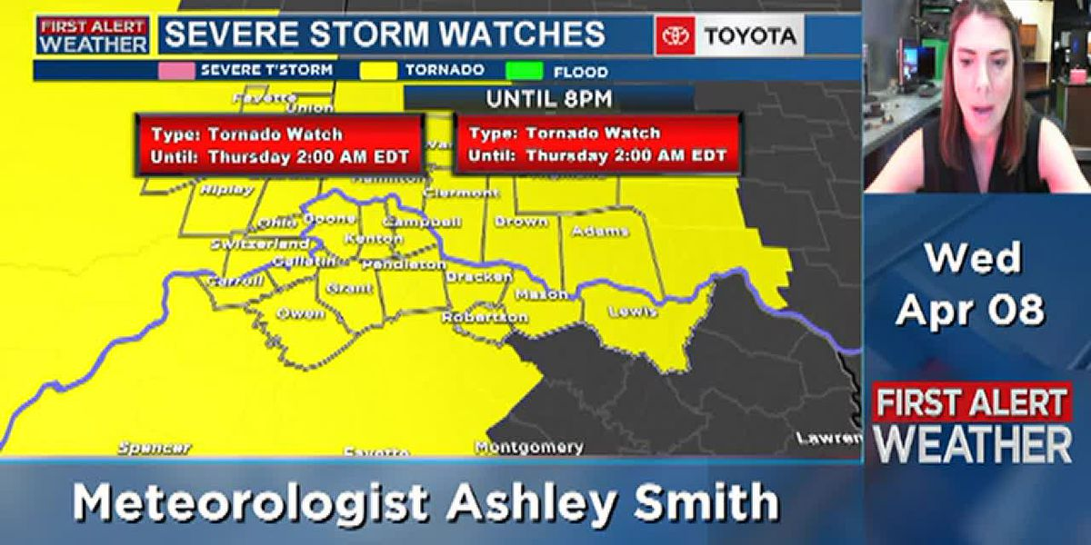 Severe storms on the way