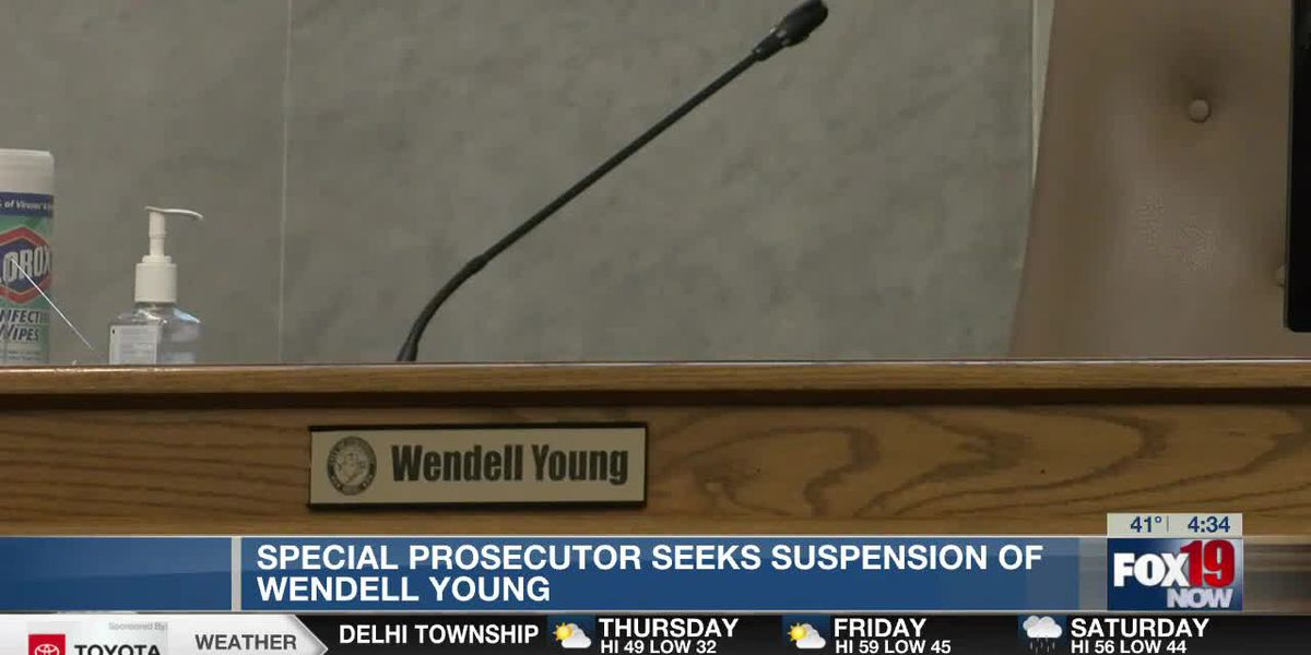 Special prosecutor asking Ohio Supreme Court to suspend Wendell Young from city council