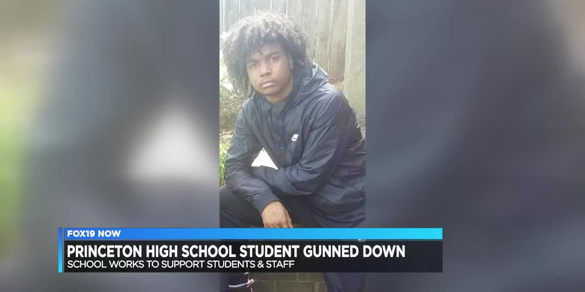 Princeton High School student gunned down