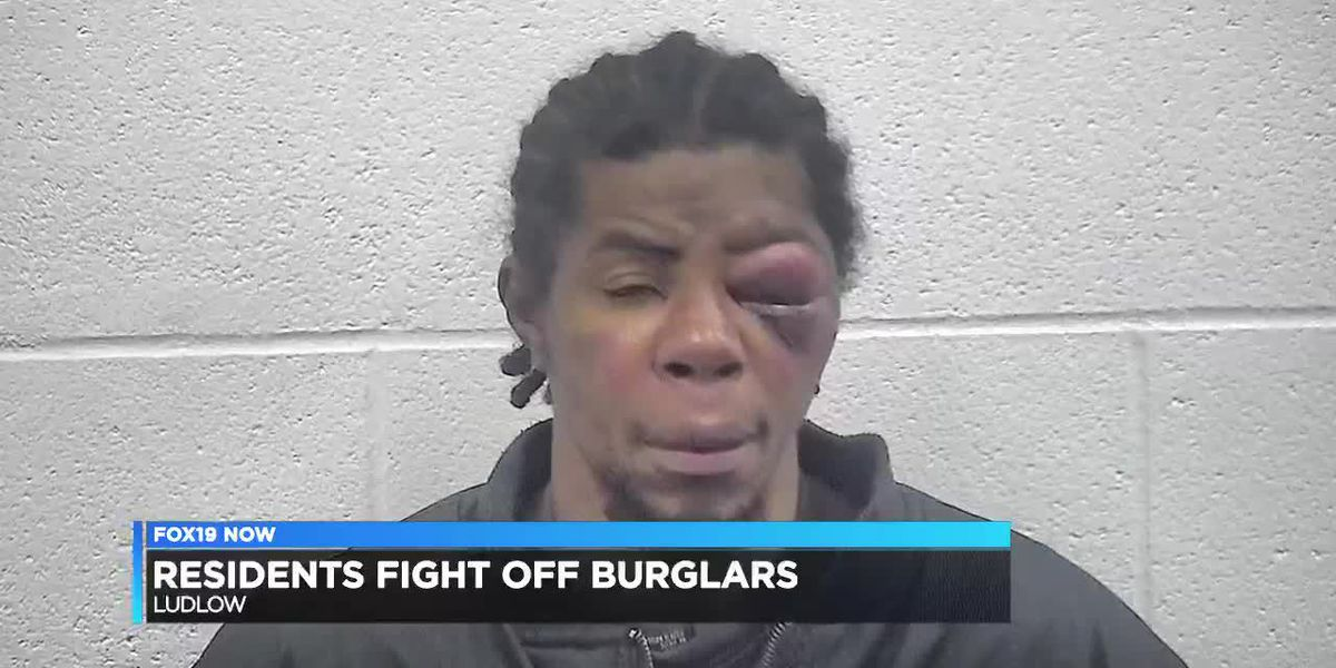 Residents fight off burglars