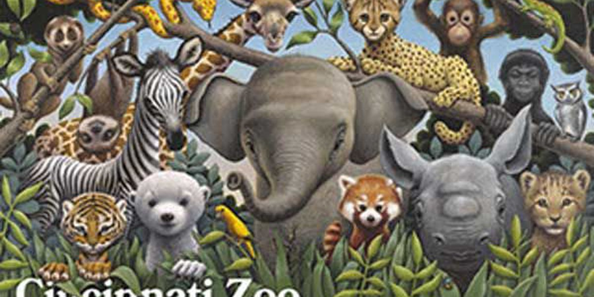 """Zoo Babies"" poster"