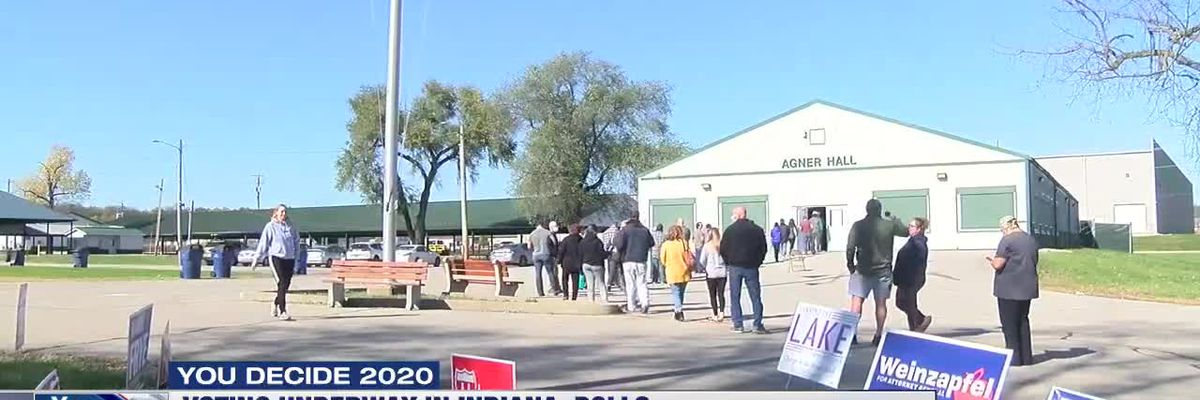 Indiana voters turnout for Election Day