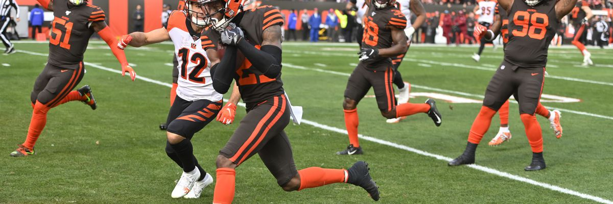 Bengals lose to Browns, drop to 1-12