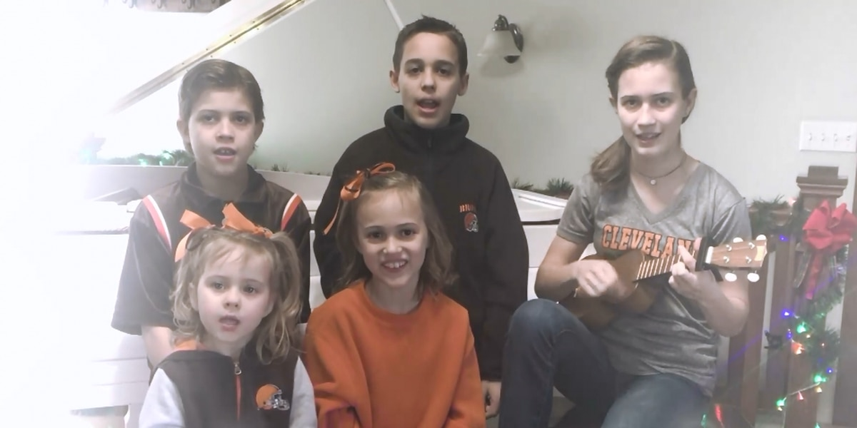 'Bengals Got Ran Over by a Baker' | Children turn another Christmas classic into Cleveland Browns anthem