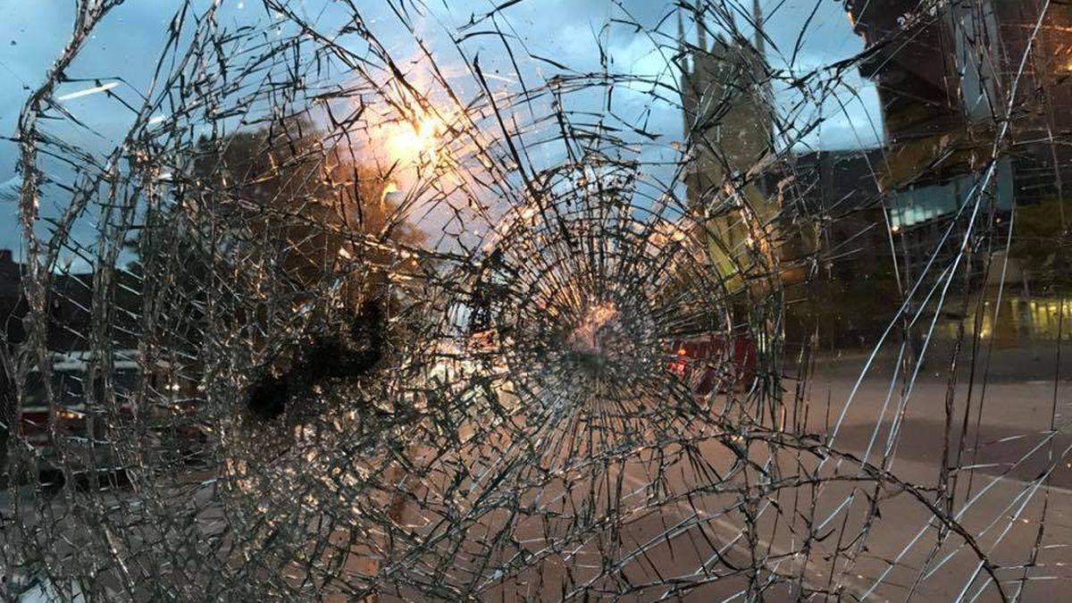 Protesters shatter Cleveland fire truck's windshield; firefighters responded to more than 20 fires