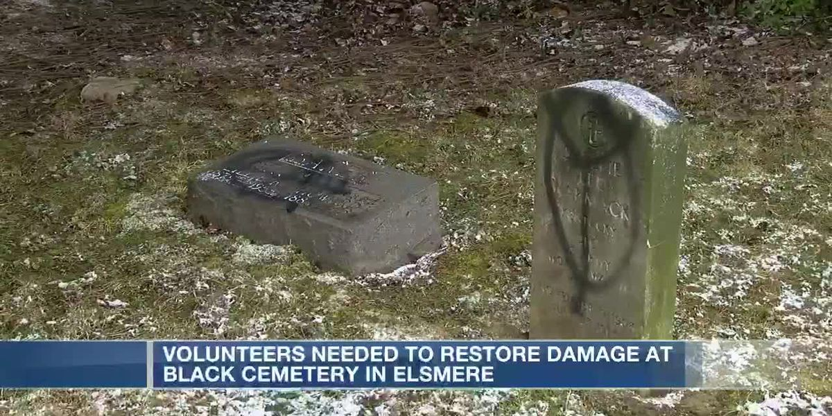 Volunteers needed to restore damaged gravesites at historic Black cemetery