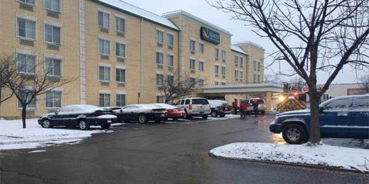 Report of smoke at Erlanger hotel prompts evacuation