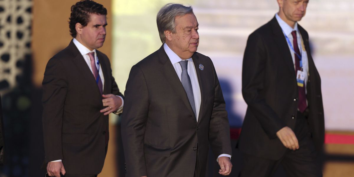 The Latest: UN chief presses support for migration accord