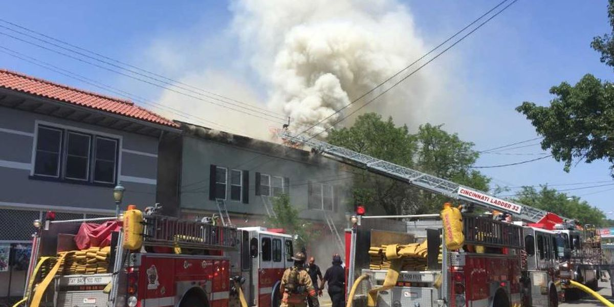 Fire destroys Coffee Exchange next to Molly Malone's, damage set at $300K