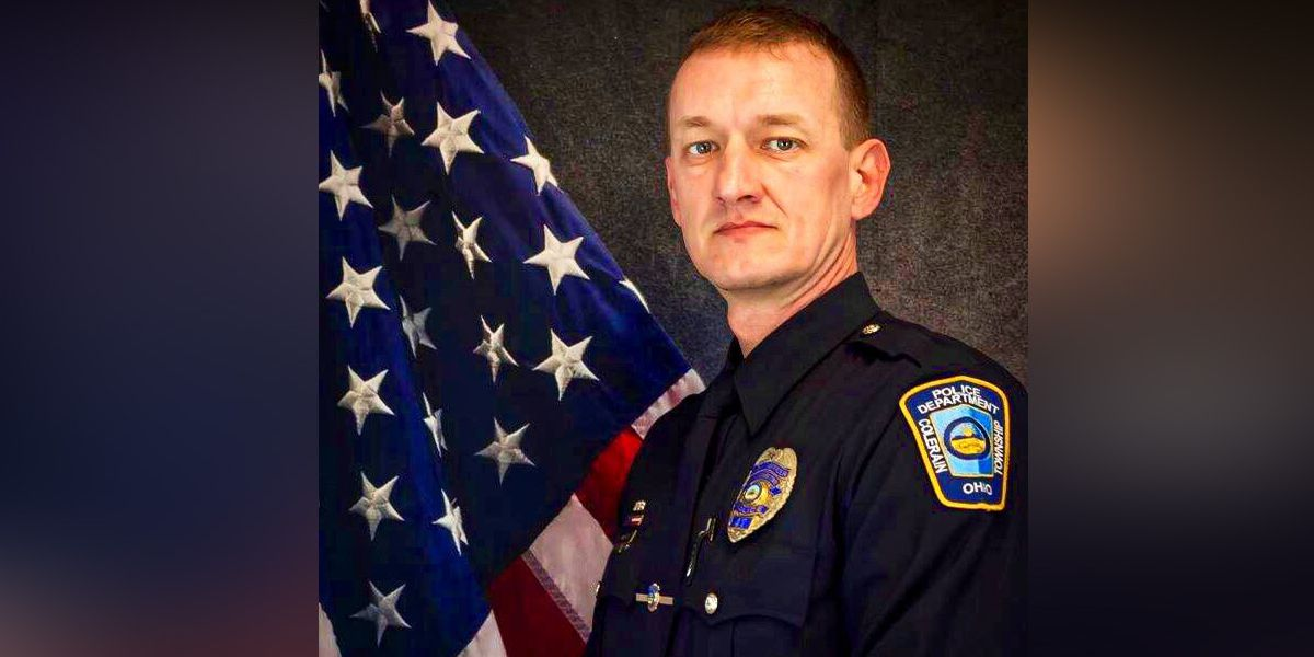 Colerain Township police honors Officer Dale Woods on 2nd anniversary of death