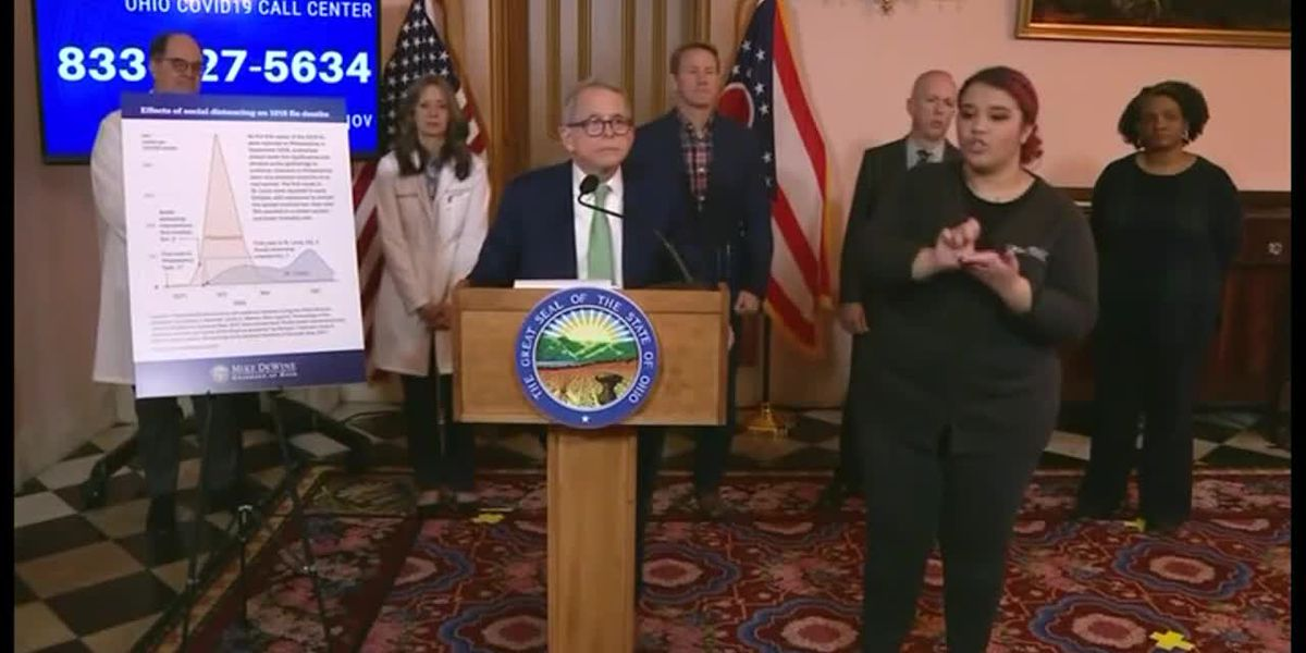 Ohio Gov. Mike DeWine announces statewide stay-at-home order
