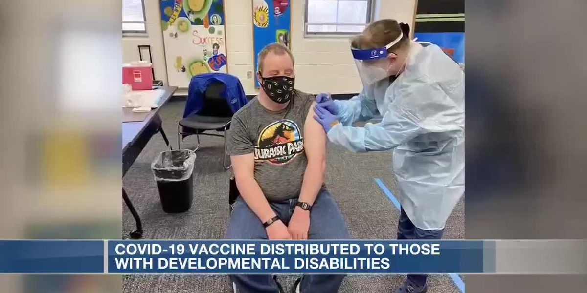 Hundreds of Ohioans with developmental disabilities receive COVID-19 vaccine
