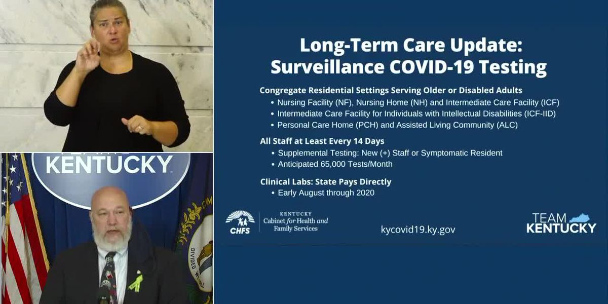 Gov. Beshear gives update on COVID-19 in Kentucky