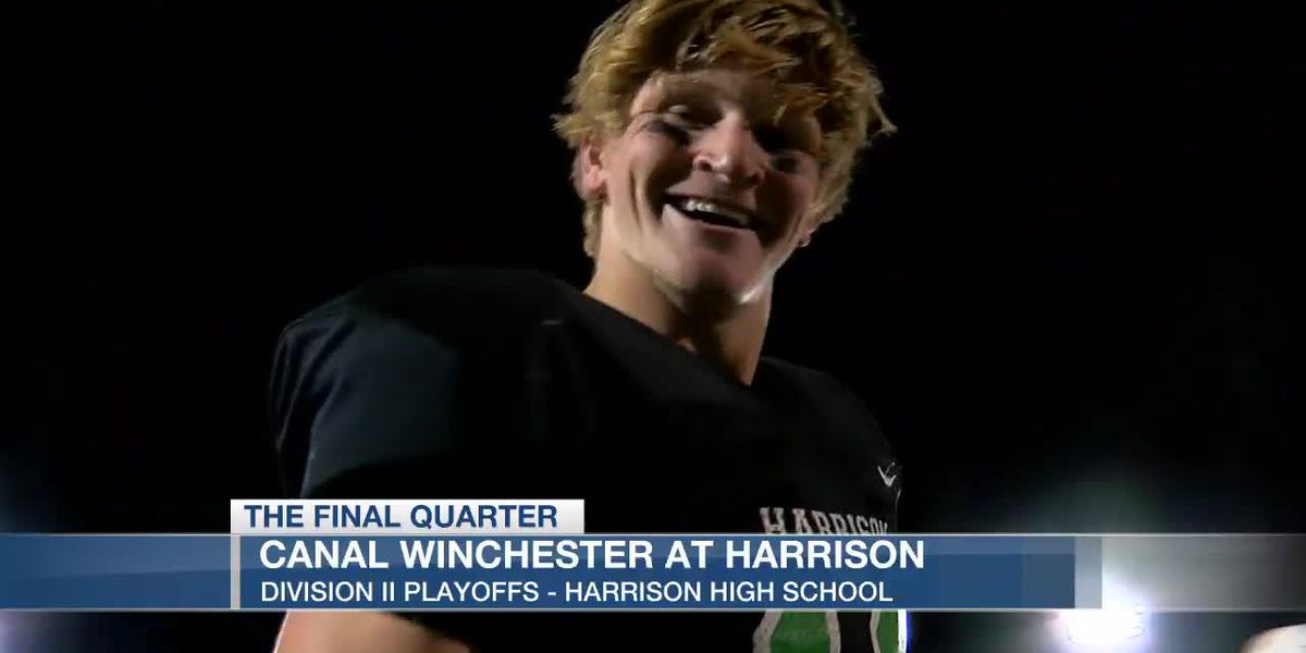 Harrison keeps their incredible season rolling in the playoffs