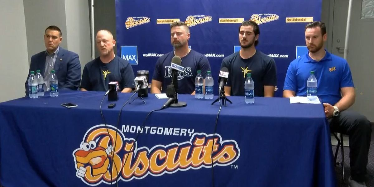 'Nobody's thinking about baseball': Biscuits discuss tragedy involving pitcher's family