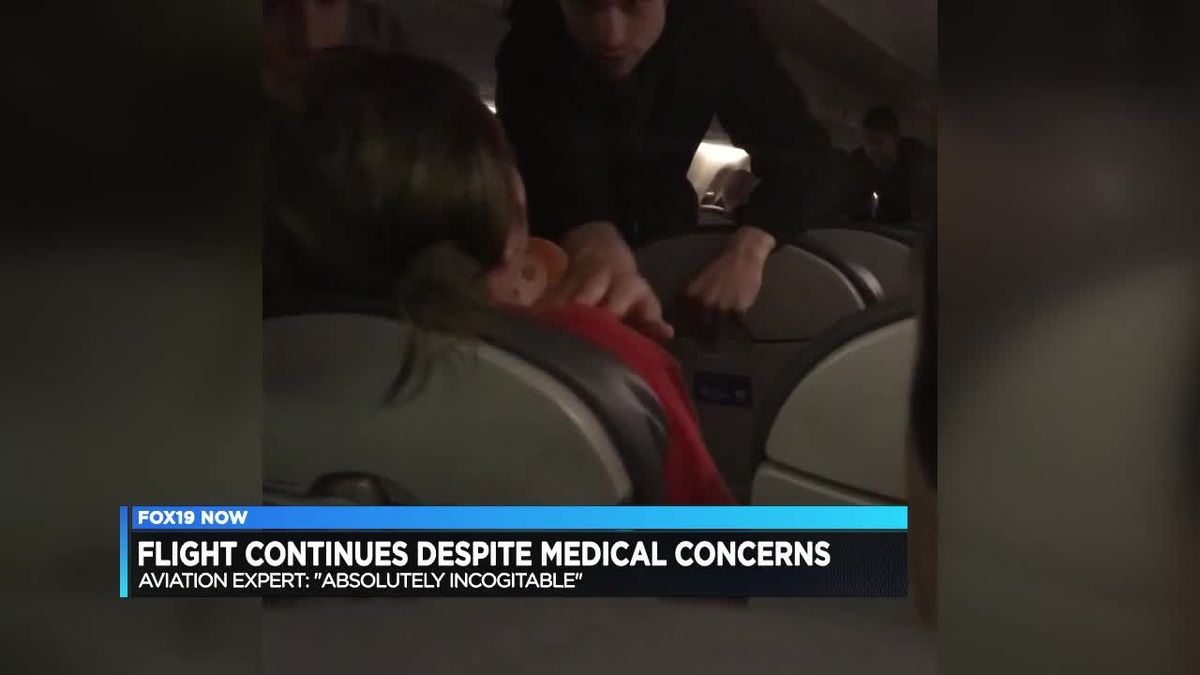 'Her whole body would go stiff': United flight not diverted for passenger's medical episode