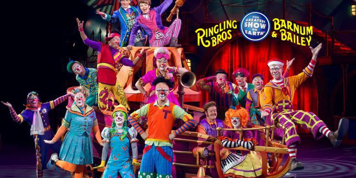 Ringling Bros and Barnum & Bailey Circus kicks off final stop in Cincinnati
