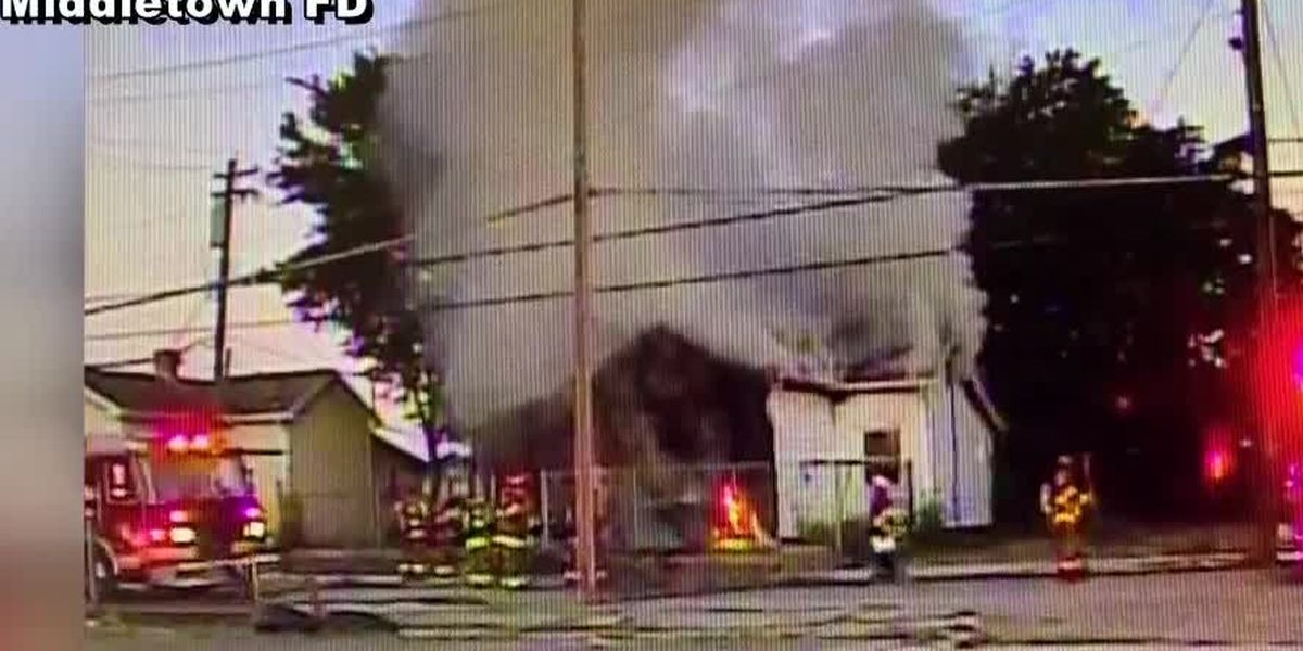 Woman dies days after officers pull her from burning home