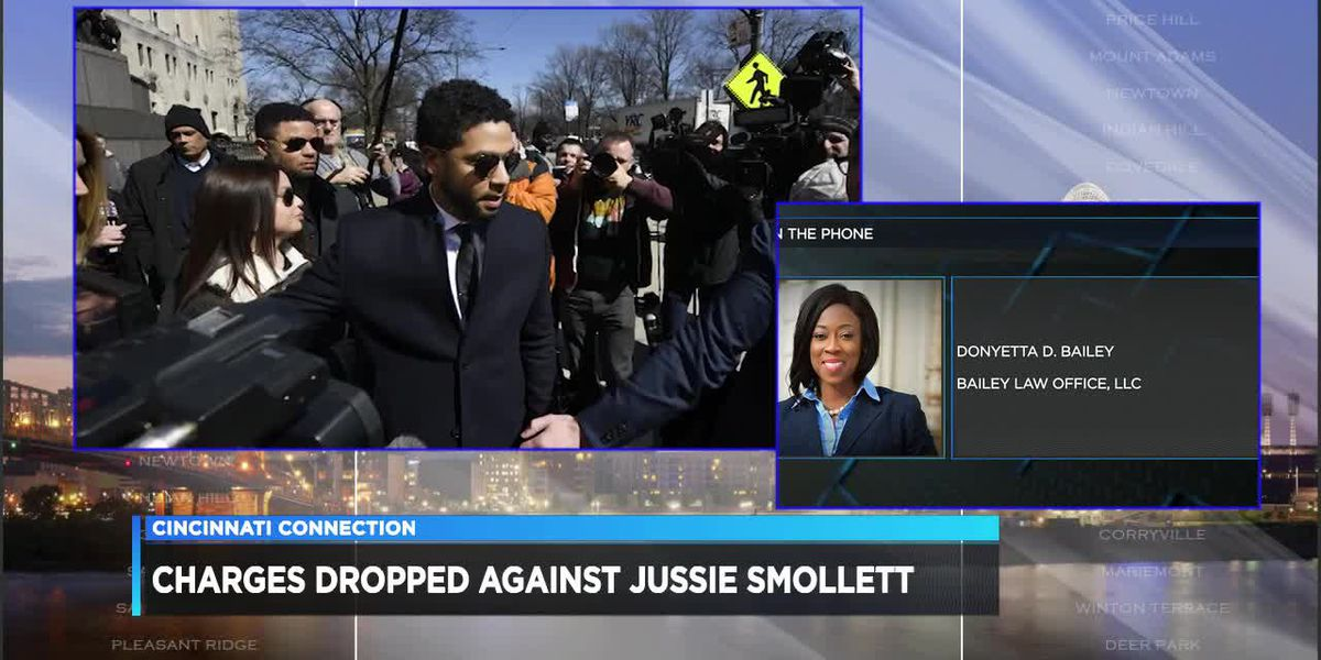 Cincinnati Connection: Charges dropped against Jussie Smollett