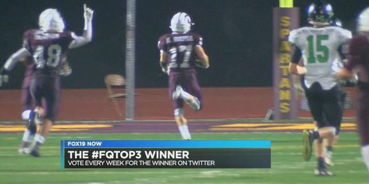 Turpin's Nathan Hooper takes No. 1 in FQ Top 3