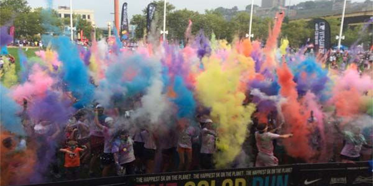 Color Run MLB All-Star 5K: Largest Color Run in Ohio