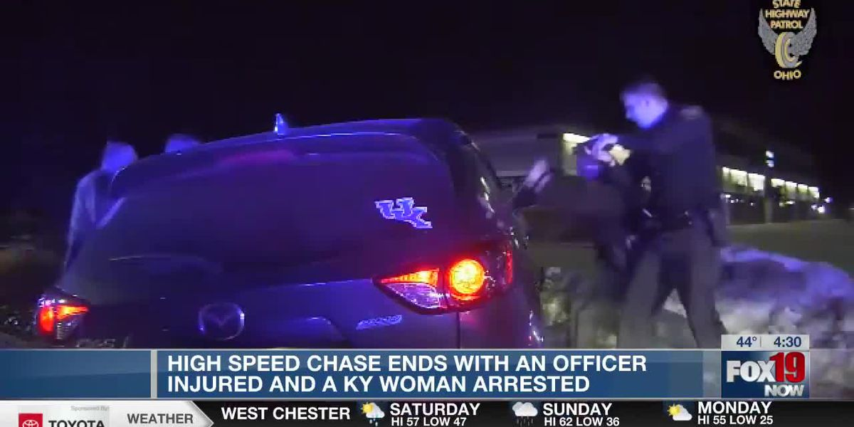 WATCH: Chase crosses state, county lines before finally ending