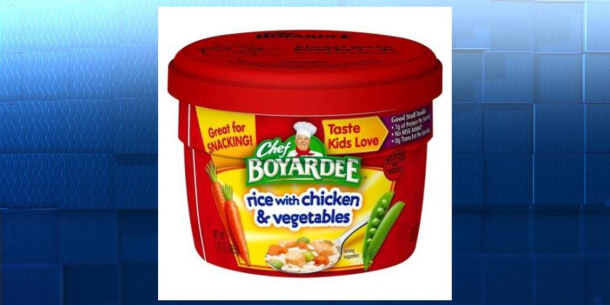 Chef Boyardee product being recalled due to misbranding