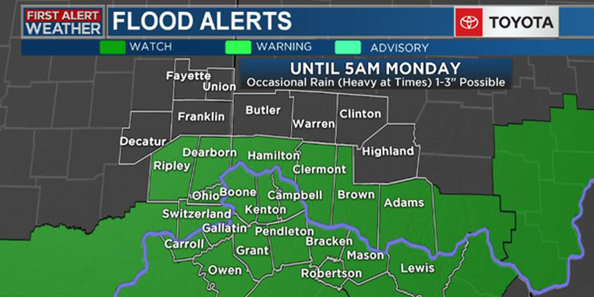 First Alert Weather Day: Heavy Rain and Flood Concerns