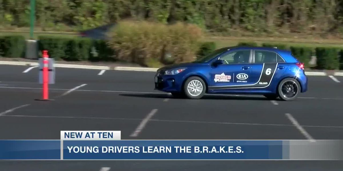 Young drivers learn the B.R.A.K.E.S.