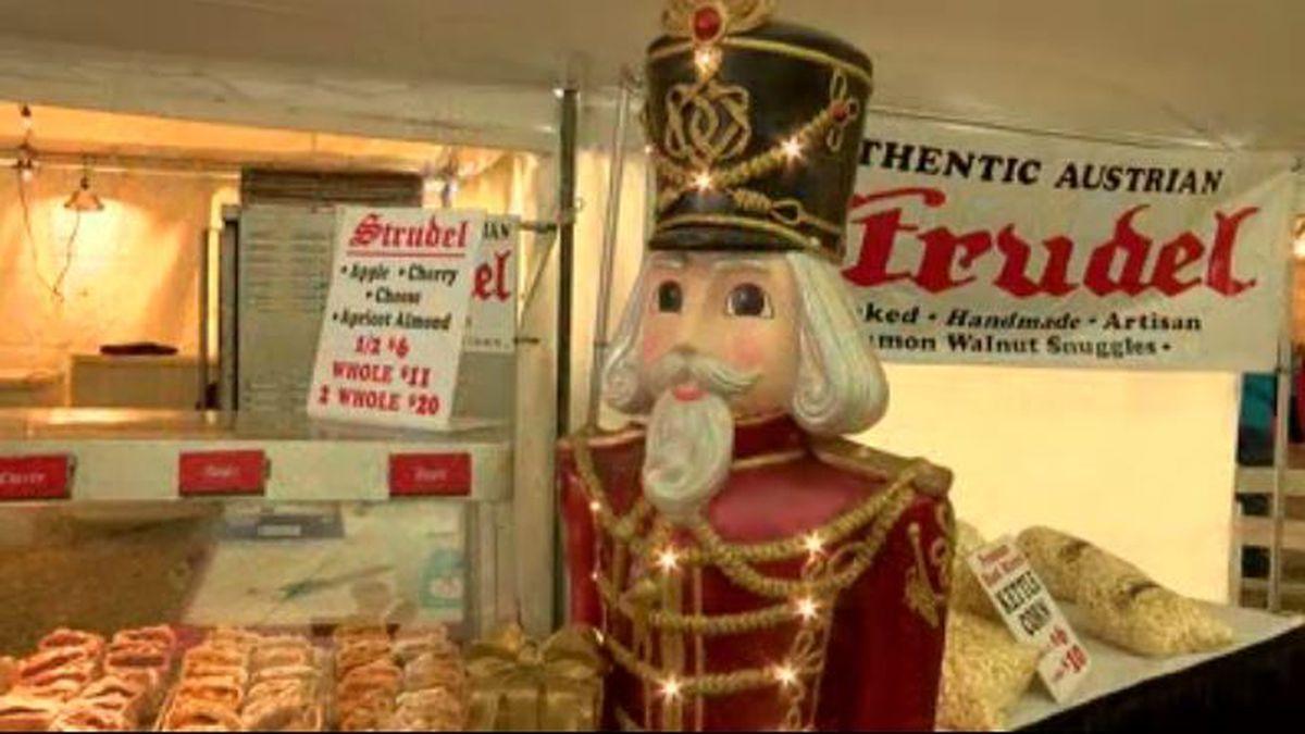 Germania society of Cincinnati holds Christmas market