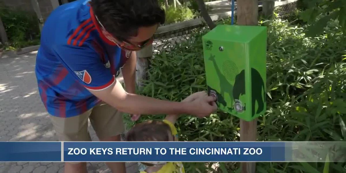 More fun unlocked at Cincinnati Zoo with return of Zoo Keys