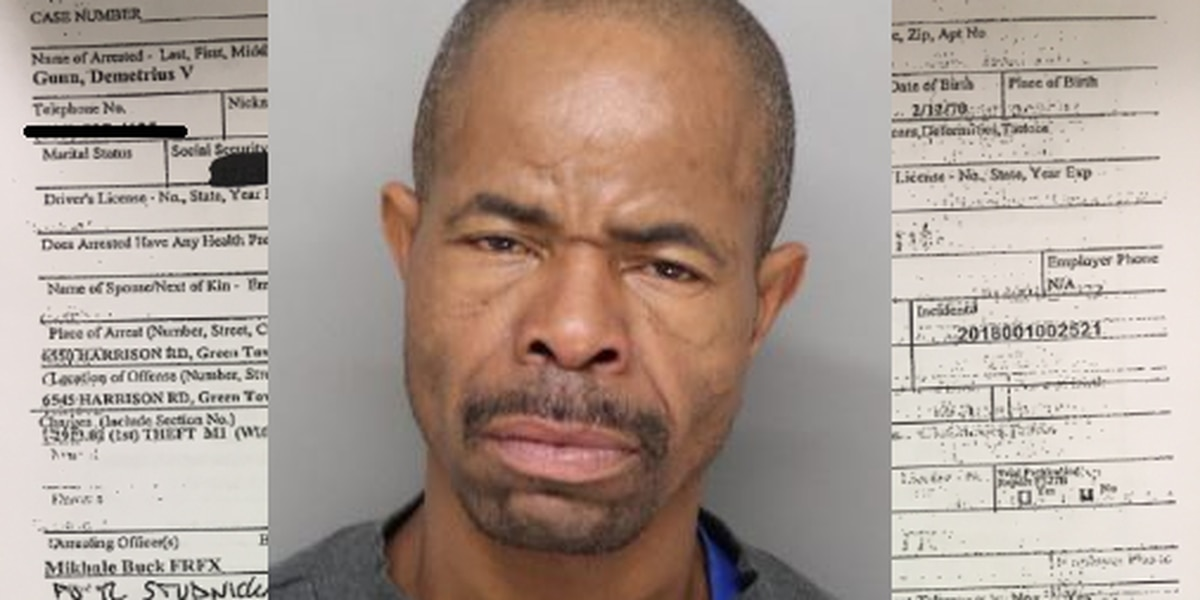 Homeless man accused of stealing hundreds of dollars in groceries
