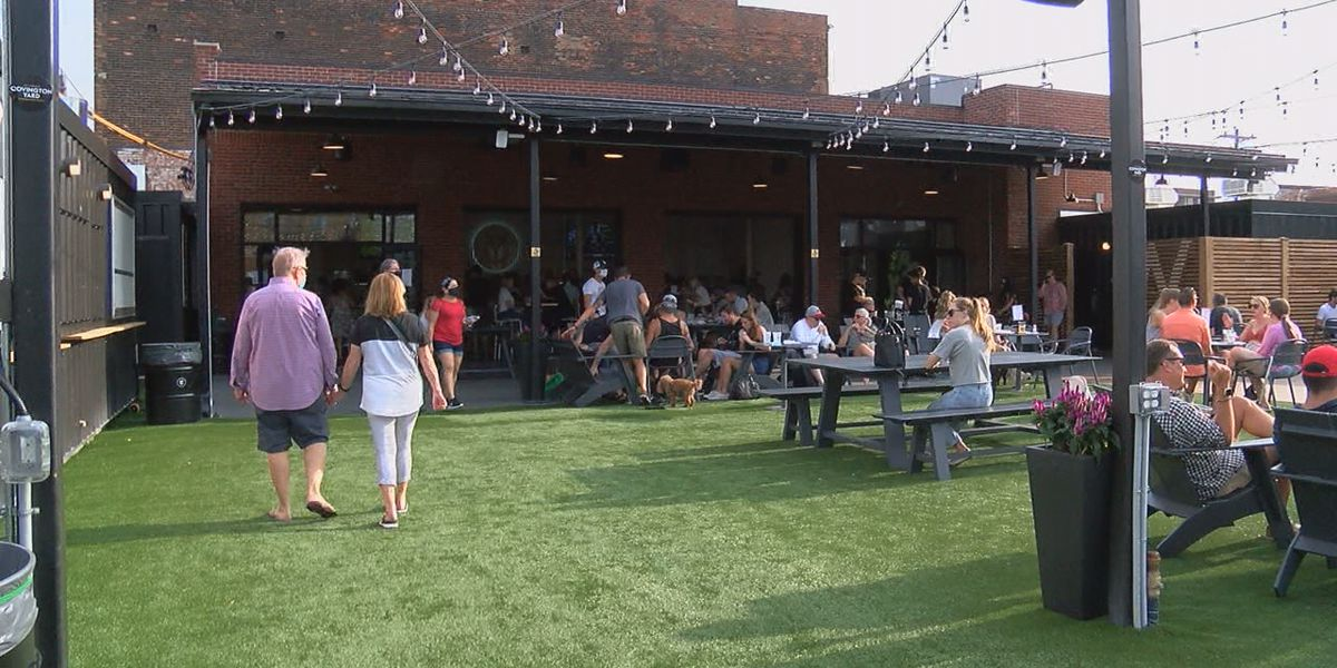 New outdoor dining option in Covington opens this weekend