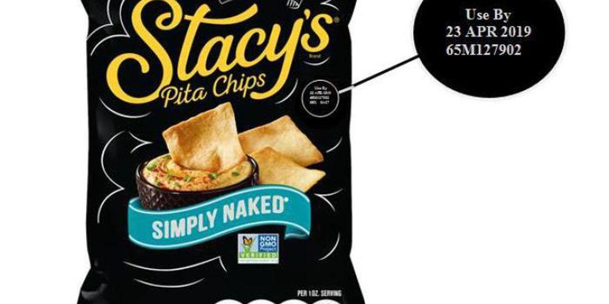Frito-Lay recalls bags of pita chips nationwide