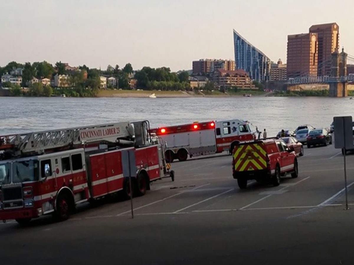 Recovery efforts continue Monday for woman who fell into Ohio River