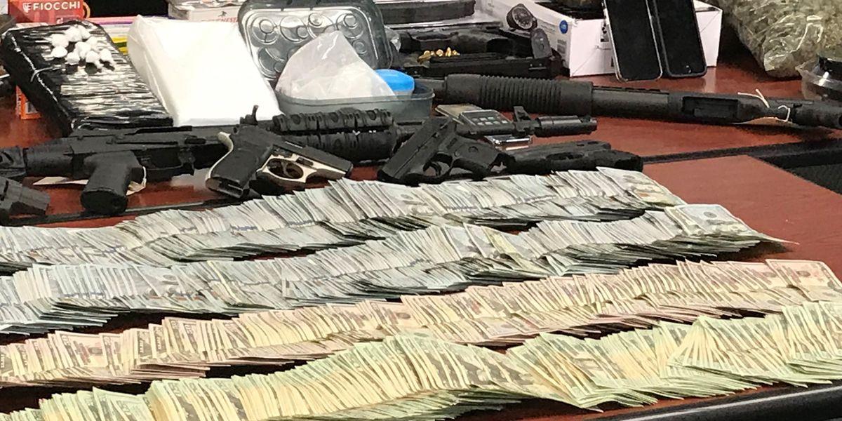 $75K, drugs, guns and more seized during Butler County drug bust