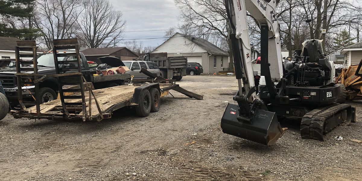 Middletown man out thousands after construction machines damaged during theft